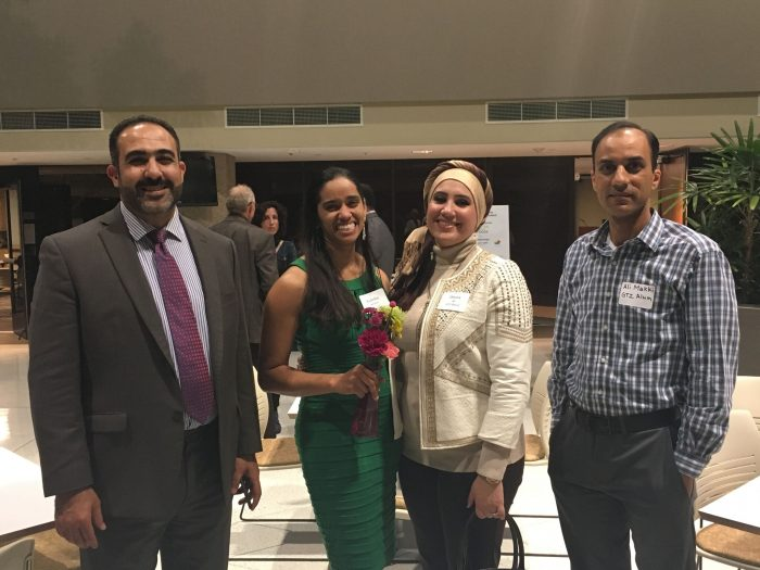 Left to right: Marwan Sweedan, Surgeon from Iraq; Yudelka Artiles, MD from Dominican Republic; Dhuha Lamie Ali, MD from Iraq; Ali Makki, MD from Iraq and current medical resident at Family Medicine Residency of Idaho (FMRI)